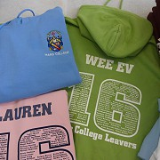 Delighted with our Leavers Hoodies - fantastic service.